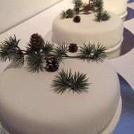 Bröllopstårtor enkel x4
