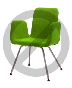 Stol - Grön