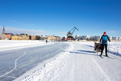 Joakim Höggren, Ice roads in Luleå