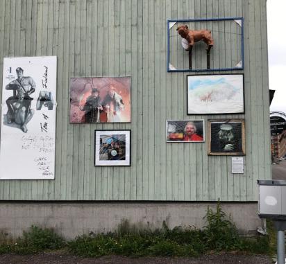 Street art in Kiruna