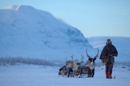 Sami people in Gällivare. Credits: Staffan Widstrand/imagebank.sweden.se