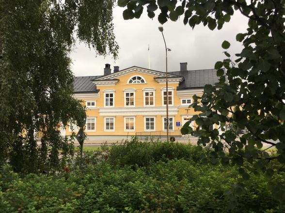 Luleå, Bergströmska gården