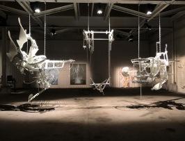 """Andreas R Andersson, installation """"När Jordens Rening Uteblev"""""""