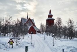 Kiruna wooden church