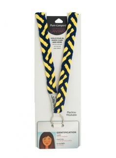 Lanyards - Navy Sunshine