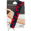 POM Key Keeper - Navy Red