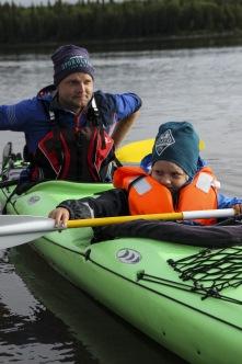 K2:or. Stabila tvåmanskajaker för stora och små. Foto: Ola Bergkvist