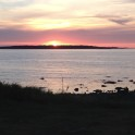 Solnedgång i Torekov