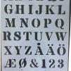 Tygkasse 37x41 kort handtag med din text