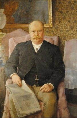 Porträttet av Anton Ridderstad från1889, ÖLM