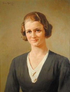 Porträtt av Hulda Jansson 1932, ÖLM
