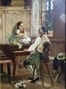 Interiör omkring 1870, privat ägo