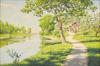 Sommargrönska vid ån, Uppsala auktionskammare