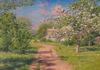 Blommande träd 1915, Melefors