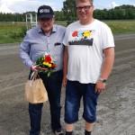 Segrande ägare och prisutdelare i Jan Ivan Erikssons minneslopp