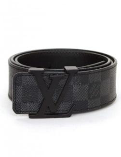 Louis Vuitton belt all black