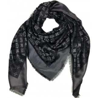 LV scarf black