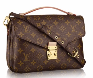 Lv bag brown