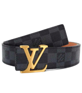 LV Belt Black/gold