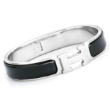 Hermes Bracelet - Black/Silver