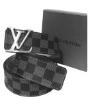 LV Belt Black/silver