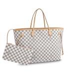 LV bag never full white
