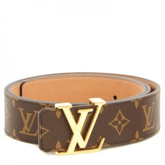LV Belt Brown/gold