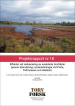 Projektrapport nr 18, Torv Forsk