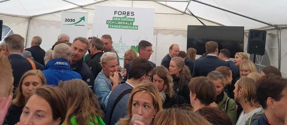 Mingel med Fores och 2030-sekretariatet
