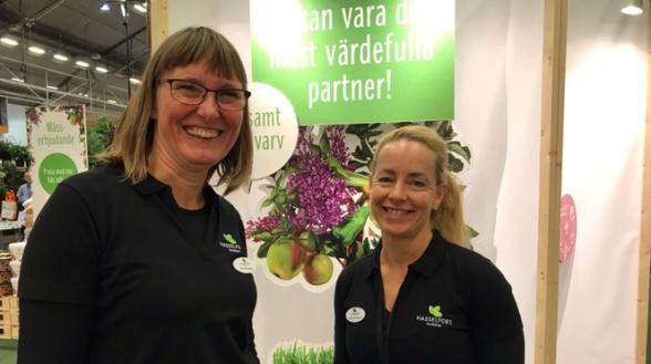 Pia Holmgren och Tereza Andersson, Hasselfors Garden.