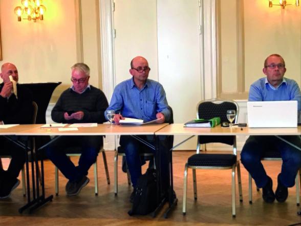 Mikael Wågesson, Leif Olsson, Stefan Östlund samt Claes Bohlin