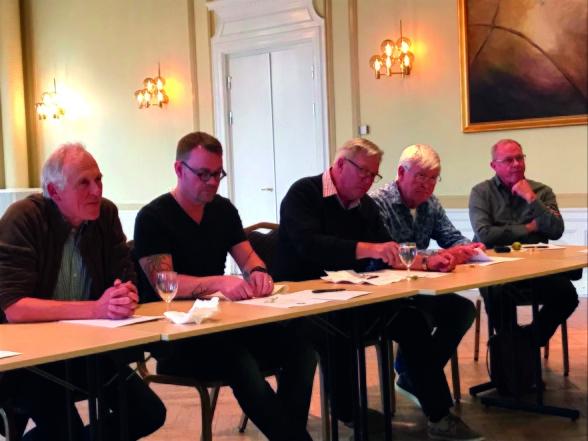 Magnus Nobel, Johan Funke, Pelle Bäfwer, Göran An¬dersson samt Kurt Johansson