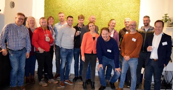 Deltagarna på Branschföreningen Svensk Torvs höstmöte 2019