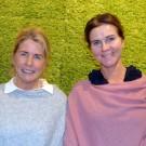 Åsa Bihl och Cecilia Boman från Svenska Skogen