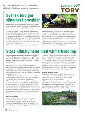 Svensk Torv i Tidningen Viola