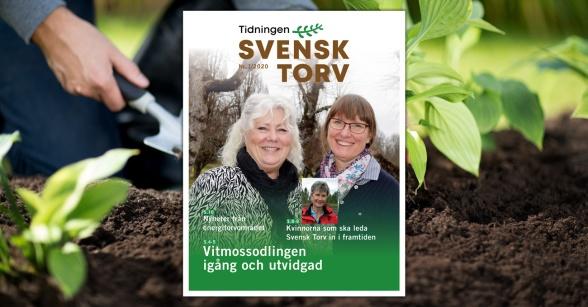 Tidningen Svensk Torv nummer 1 / 2020