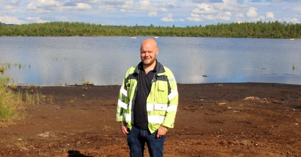 David Halvarsson, Härjeåns Energi