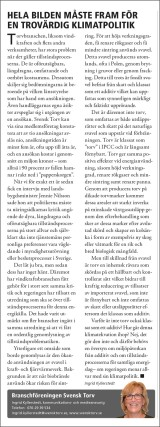 Svensk Torv i Bioenergitidningen