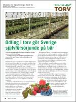 Svensk Torvs sida i tidningen Viola