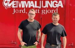 Johan Funke och Jesper Andersson. Foto: Privat