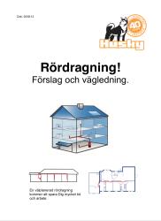 RÖRDRAGNING - FÖRSLAG O VÄGLED.