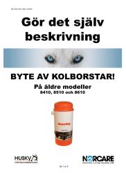 BYTE KOLBORSTAR ÄLDRE MASKINER