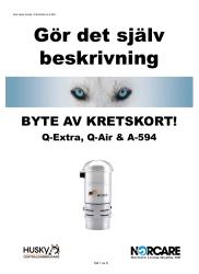 BYTE KRETSKORT ÄLDRE MODELLER