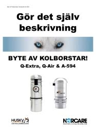 KOLBORSTBYTE Q-EXTRA/AIR & A-594