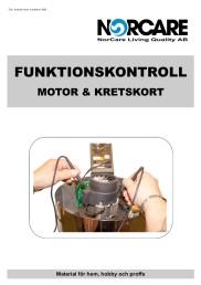 Funktionskontroll Motor o Kretskort