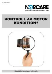Kontroll av motorkondition