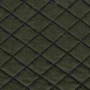 Kviltad Trikå, Mörk Militärgrön