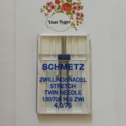 Schmetz Stretch Tvillingnål 4 mm