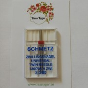 Schmetz Tvillingnål 2 mm