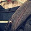 College Jeansblå Med Kaniner